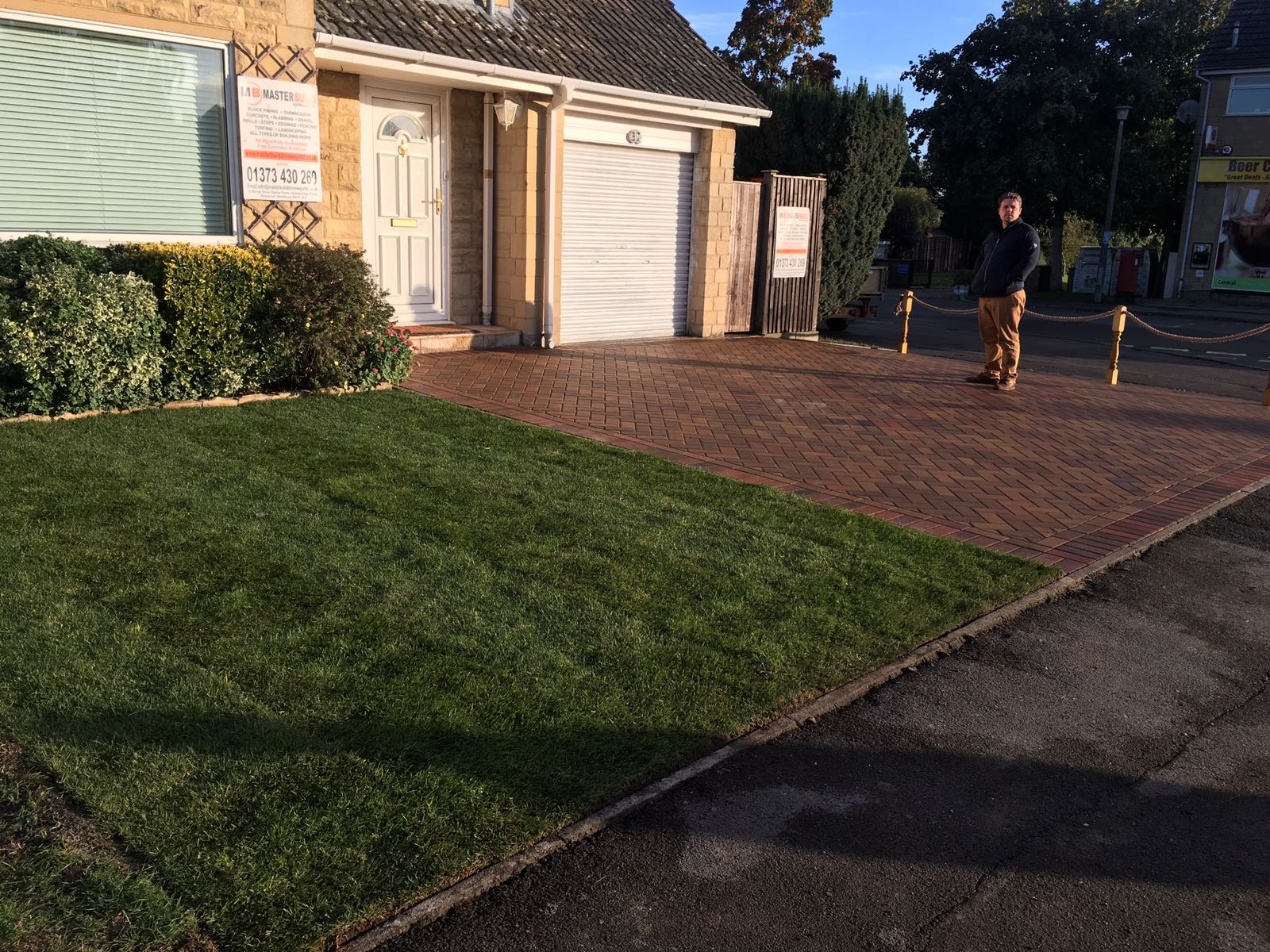 paving after1